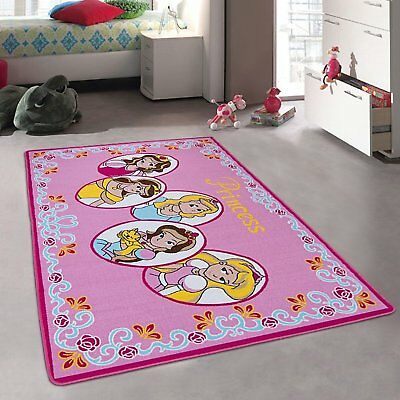 Kids Carpet Playmat Rug Princess Tiara Crown - Great For Playing With Cars & - &