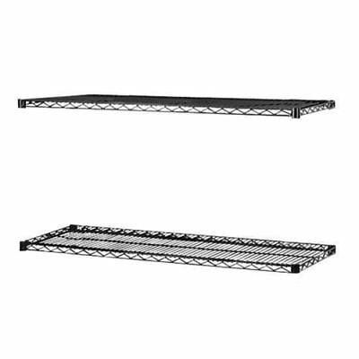 Lorell 2-Extra Shelves for Industrial Wire Shelving 69146