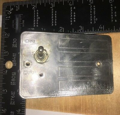 Hobart Mixer Parts Switch Plate And Toggle Switch  A200 Mixer