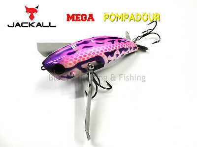 Jackall MEGA pompadour floating topwater noisy cod surface lure Copeton Frog