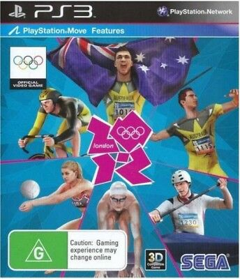 LONDON 2012.  Sony Playstation 3 PS3 Game PAL + Booklet