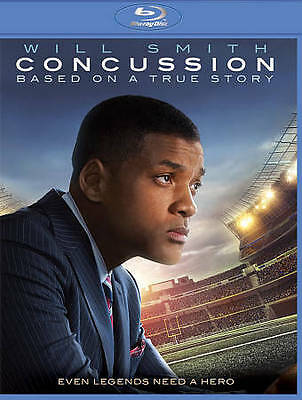 Concussion (Blu-ray Disc, 2016, Includes Digital Copy UltraViolet) - NEW!!