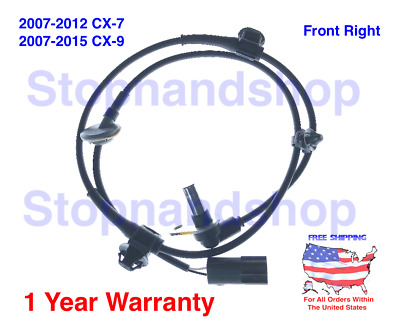 NEW ABS WHEEL SPEED SENSOR For 2007-2015 Mazda CX-7 CX-9 SUV Front Right Side