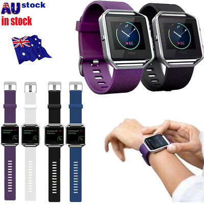 Replacement Silicone Gel Band Strap Bracelet Wristband for FITBIT BLAZE Sport S4