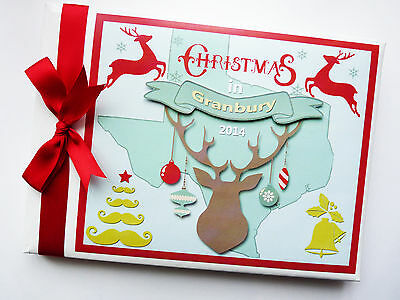 Personalised Christmas Guest Book - Any Design