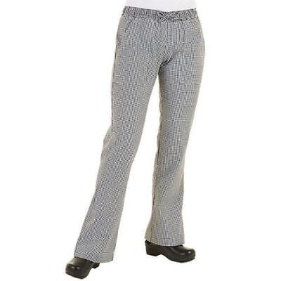 Chef Works - WBAW-XL - Women's Checked Chef Pants (XL)