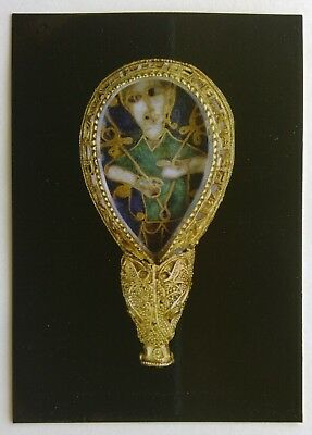 Ashmolean The Alfred Jewel Somerset Postcard (P255)