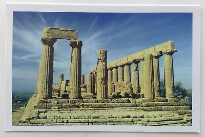 Temple of Juno Agrigento Postcard (P255)