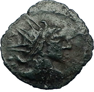CELTIC Barbarous RADIATE ANCIENT like Roman Coin TETRICUS or VICTORINUS i66813