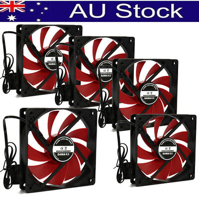4/6/8/10pcs 120x120mm 12V 4Pin DC Brushless PC Computer Case Cooling Fan 1200PRM