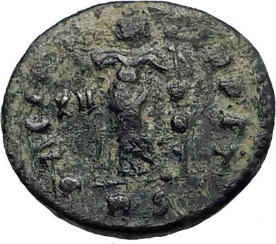 CONSTANTINE I the GREAT Ancient 312AD Rome Authentic Roman Coin PAX PEACE i67118