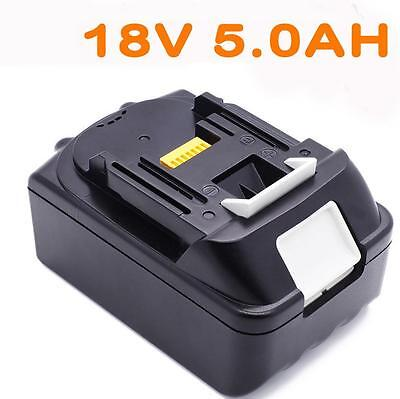 For Makita 18V 5.0AH BL1860 BL1840 BL1830 BL1815 Lithium Ion Battery Cordless