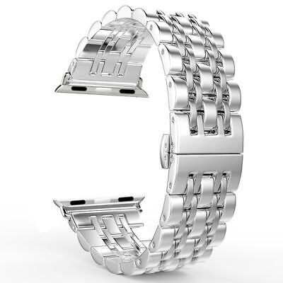 38mm Stainless Steel Bracelet iWatch Band For Apple Watch Series 2 3 Silver New