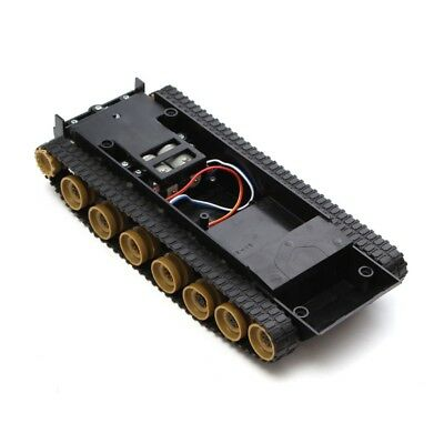 Smart DIY Robot Tank Chassis Tracking Light Shock Absorbed Car Kit for Ar Dudj