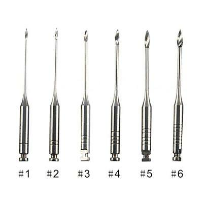 6x Dental Endodontic Gates 32 mm Glidden Drills Tool Stainless Steel  Use Hood
