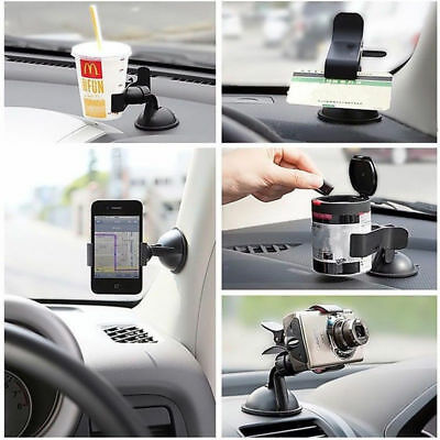 New Mobile Cell Phone GPS Car Stand Holder Windshield Mount Sucker 360°Universal