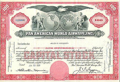 Pan American World Airways, Inc. 1959