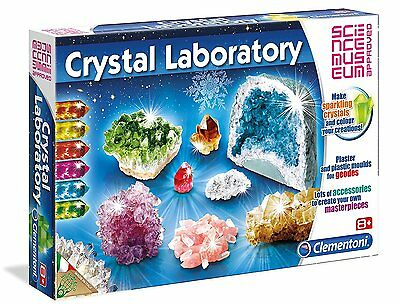 SCIENCE MUSEUM Approved Set Crystal Laboratory Make sparkling