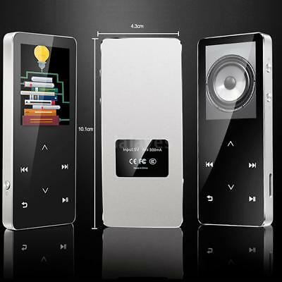 8GB Portable Bluetooth MP3 Player with FM Radio 30Hours Lossless Playing TF G1E9