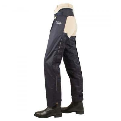 Horseware Adult Rambo Fleece Lined Chaps Navy - Horse Riding