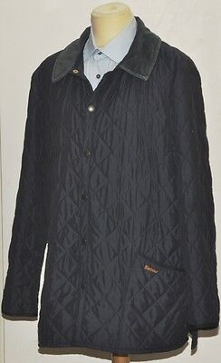 Barbour D371 Eskdale Quilt Quilted Jacket Extra Large Navy