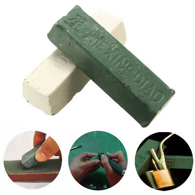 2Pcs/Set Leather Strop Sharpening Polishing Compounds 160g / 6oz per on L