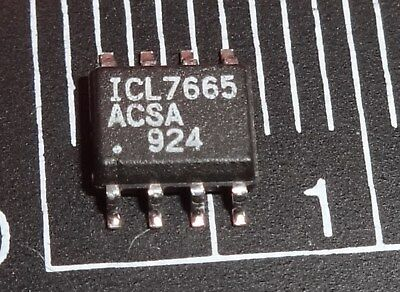 ICL7665ACSA Voltage Monitor with Dual Over/Undervoltage Detection