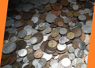 1.9 kg or 1 kg Mixed Job Lot World Coins Diverse collection Multiple Countries