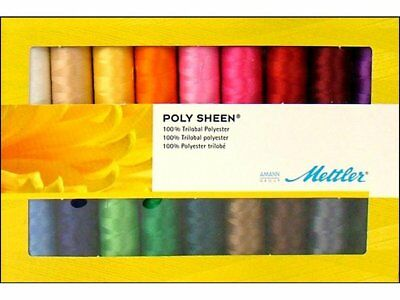 AMSE28-KIT Mettler Seralon Assorted Embroidery Thread Pack 28 x 200m Spools