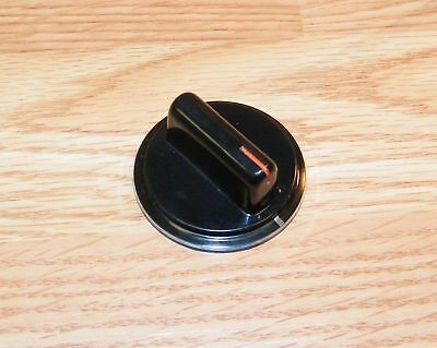Genuine Magic Chef (3842XRW) Big / Small Black Replacement Stove Knobs *READ*