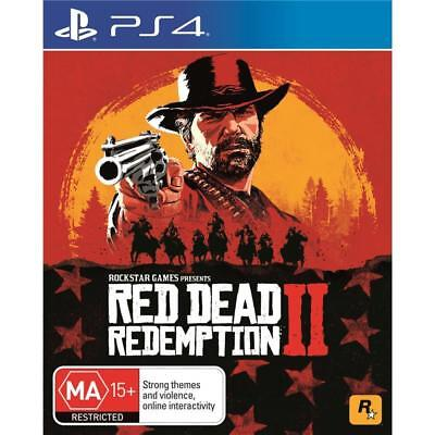 Red Dead Redemption 2 PS4 (PAL) New // Pre-Order!