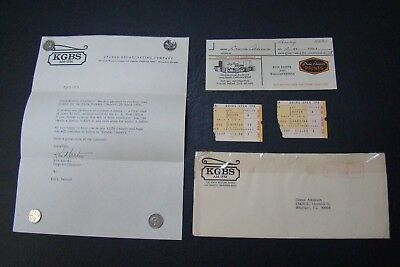 Elvis Presley 1976 Longbeach 2 Concert Tickets Stubbs With Invoice Great