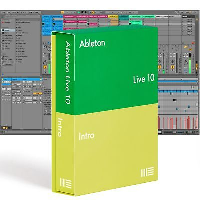 Ableton LIVE 10 INTRO - Music Production Software, DAW (Boxed)