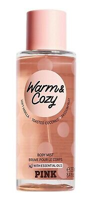 Victoria's Secret Pink New! WARM & COZY Scented Body Mist 250ml