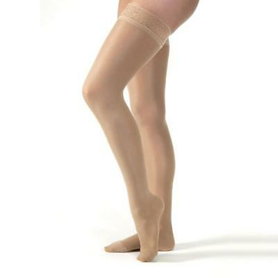 Jobst UltraSheer Closed Toe Thigh Highs w/ Lace Band - 8-15 mmHg  117232-P