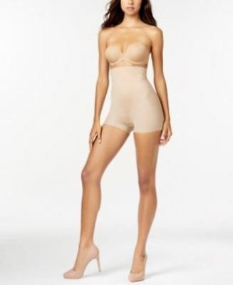 9483ed3f699b2 SPANX Firm Control On Air High-Waisted Girl Short FS1715 Nude Beige Black