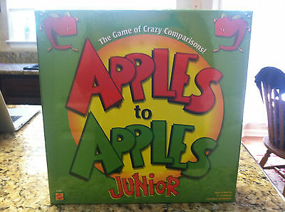 Apples to Apples Junior Mattel board game kids children's toys entertainment