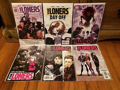 Complete Set The Loners #1-6 1 2 3 4 5 6 Marvel Comics (2007) VF/NM