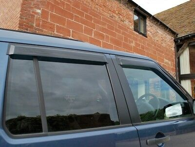 Land Rover Discovery 3 - Wind Deflector Set - Front and Rear - DA6072