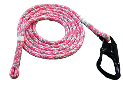Pink Tachyon Lanyard/Flipline for Tree Climbing Replacement Lanyard Only