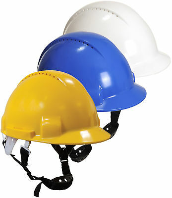 Portwest Climbing Helmet Safety Hard Hat Comfort 6 Point Harness PW97
