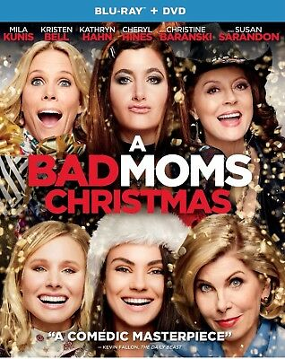 A Bad Moms Christmas(Blu-Ray+Dvd+Digital)W/slipcover New Target Exclusive