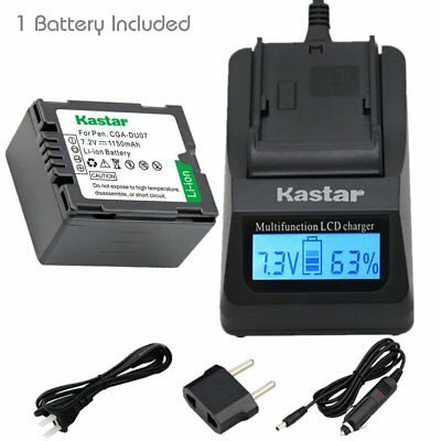 CGA-DU07 Battery or LCD Fast Charger for HITACHI DZ-HS803 HS903 BD70 BD7H BD9H