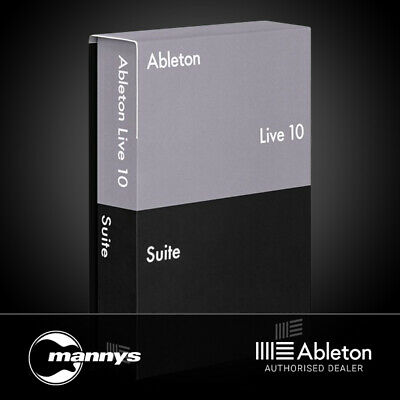 Ableton Live 10 Suite Music Production Software