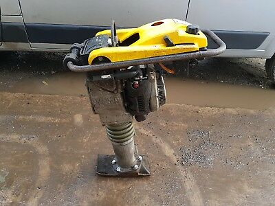 "Wacker Neuson Trench Rammer Bs502 2012 Year 6"" Jumping Jack Compactor Plate"