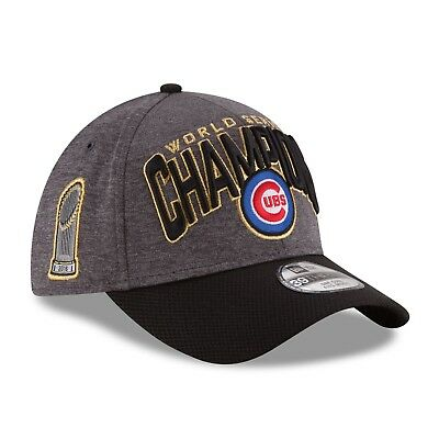 61b1c21f19e648 New Era Chicago Cubs 2016 World Series Champions Locker Room On Field  39THIRTY