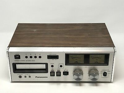 Panasonic 8 Track Stereo Record Deck RS-808 - Tested