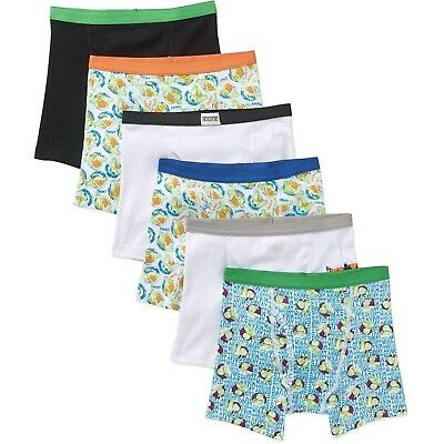 Nickelodeon Little Boys' Turtles TB 5 Pack Boxer Briefs