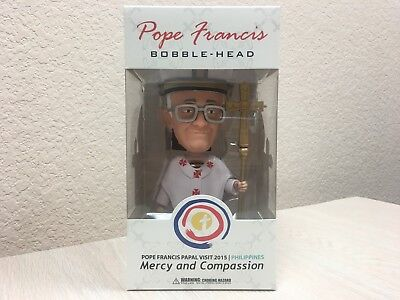 Pope Francis Bobble-Head Philippines Papal Visit 2015 Mindstyle Bobblehead NEW