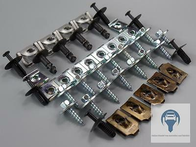 Skid Plate Installation Kit Motor Protection Repair Kits Clips BMW 3er E90